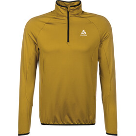 Odlo Carve Light Half Zip Midlayer Men golden brown